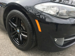 """Wheels and tires 18"""" BMW used 50km"""
