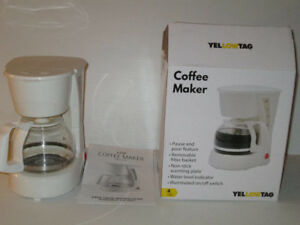 Small 4 Cup Permanent Filter Coffee Maker