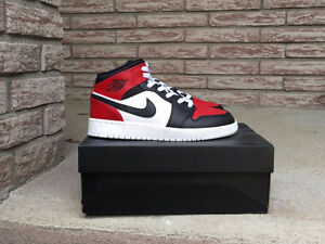 Air Jordan 1 mid  handmade customized Wms/Kids 5.5Y