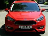 Ford Focus 1.5TDCi Zetec S Estate**£0 TAX**BODYKIT**SAT NAV**BLUETOOTH**