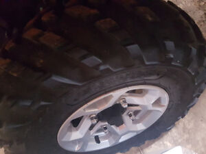 26 inch Stock can am tires