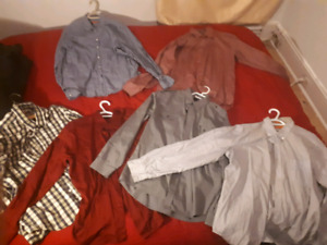 Mens clothes lot - Lots of business/casual