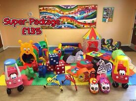 Soft Play Hire (from £60) Children's Party Hire - Bouncy Castles, Ball Pit- Mascots & Face Painting