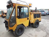 Trackless MT5T  with Air Conditioning Tractor Mower Snow Plow