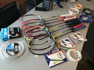 Professional Tennis/Badminton Racket Stringing Edmonton Edmonton Area image 4