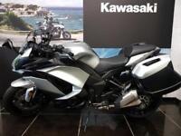 2018 KAWASAKI Z1000SX ABS TOURER ZX1000MGF In Silver, Panniers saving on ...