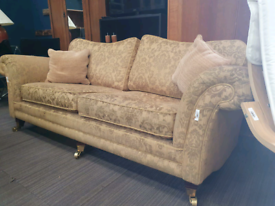 Sofa set super comfy feather filled cushions comes with armchair £125