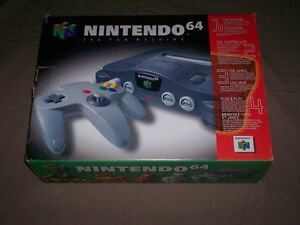 BOXED NINTENDO 64 CONSOLE COMPLETE & TESTED GREAT SHAPE