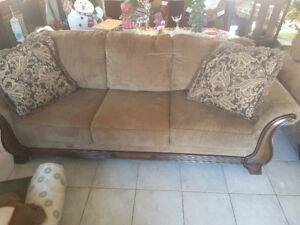 3 piece living room set (couch, love seat and chair)