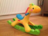Fisher price rockin tunes giraffe