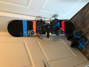 Jr Firefly Snowboard and boots