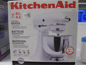 Mixer, batteur universel Kitchen Aid KSM 120...