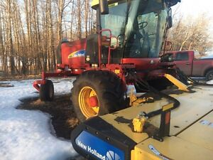 2014 New Holland H8080 S.P Windrower
