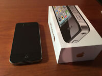 IPhone 4S with 16GB  (TELUS)   (Colour Black)      Mint Shape