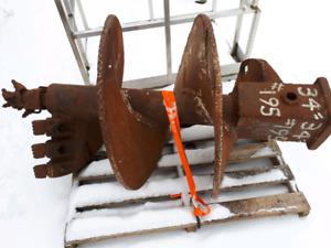 """Extreme heavy duty 36"""" auger carbide bit."""
