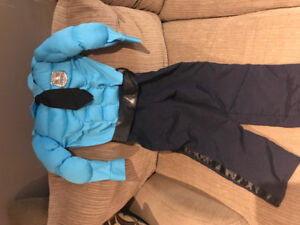 Muscle Police Officer Costume Size 5/6