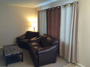Furnished 1-BR Apartment in Fort Sask.