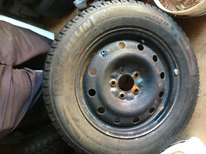 225-60-15 rims and tires off a 2006 Buick