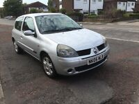 Renault Clio extreme 1.2 16 v 55,000 miles