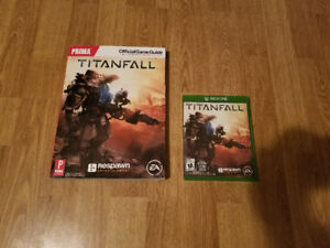 Titanfall With Brand New Official Strategy Guide Included