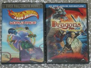 HOT WHEELS WORLD RACE/ DRAGONS FIRE & ICE combo