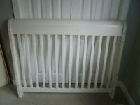 White Bily 3 in 1 crib for $100 or obo