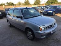 NISSAN MICRA 2001 MY S 1.0 CVT PETROL AUTOMATIC LOW MILEAGE FULL SERVICE HISTORY