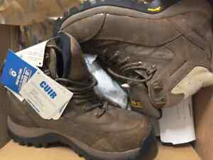 Lady size 9 steel toe work boots, brand new