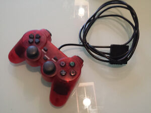 PlayStation DualShock-Style Controller - Red
