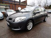Toyota Auris 1.6 VVT-I TR (FULL SERVICE HISTORY + LOW RATE FINANCE AVAILABLE) (grey) 2007