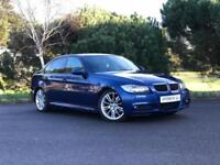 2008 BMW 3 SERIES 320D M SPORT 174 BHP DIESEL (FSH | LEATHER | LE MANS BLUE)