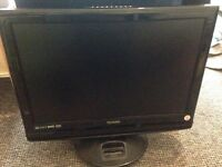 22 inch lcd tv with ipod/iphone4 built in docking station