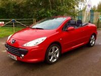 Peugeot 307cc facelift fully loaded satnav leather auto
