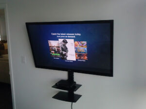 Tv wall mount installation just call for same day 50$