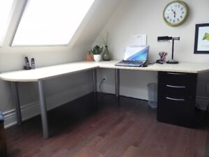 Moving Sale - High End Desk and Filing Cabinet - Reduced to $600
