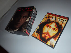Al Pacino Box Set, Scarface, Calito's Way + Serpico ... 5 DVD