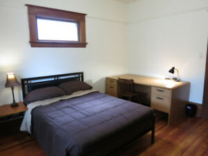Furnished bedroom (Oct 1st) includes EVERYTHING (maid service!)