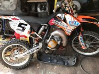 Ktm 85sx 2010 big wheel lots of upgrades