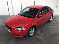 2008 VOLVO S40 1.6 S (MANUAL) 4DR SALOON - RED WITH GREY CLOTH UPHOLSTERY