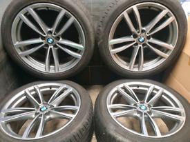 19 inch Genuine Staggered BMW 7 series G11 Alloy wheels M647