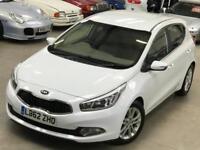 2013 KIA Cee'D 1.6 GDi 16v 3 Hatchback 5dr Petrol DCT (140 g/km, 133 bhp)