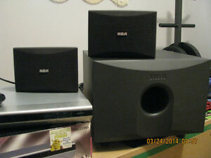 RCA Subwoofer,DVD Player,2 - 25 ea.Speakers London Ontario image 2