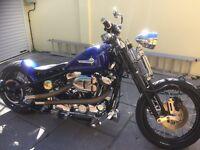 Harley Davidson 1200 bobber ,poss px Range Rover sport