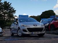 2011 11 Reg Peugeot 207 1.4 S,5 DOORS,MANUAL,46,000 MILES WARRANTED