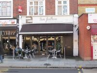 Lovely cafe to let in palmers green