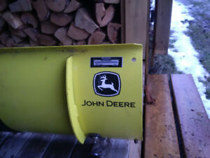 John Deere Snow Plow and Tire Chains