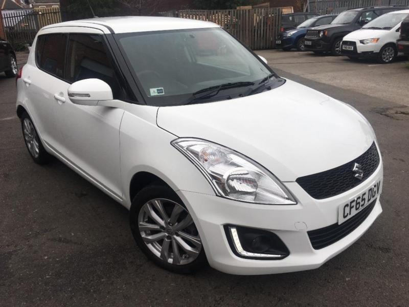 2015 suzuki swift sz4 petrol white automatic in basford nottinghamshire gumtree. Black Bedroom Furniture Sets. Home Design Ideas