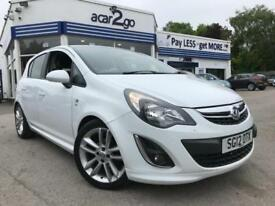2012 Vauxhall CORSA SRI Manual Hatchback