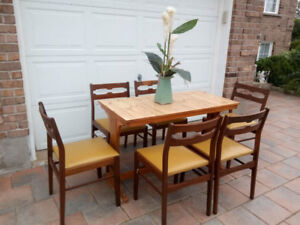 solid wood dining table only for sale (no chairs)
