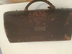 VINTAGE  SELMER  CLARINET BUFFET CRAMPON IN C WITH CASE
